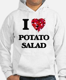 I Love Potato Salad food design Hoodie
