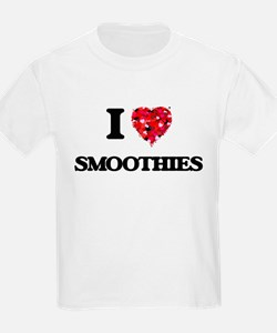 I Love Smoothies food design T-Shirt