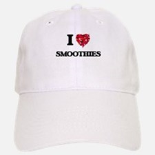 I Love Smoothies food design Baseball Baseball Cap