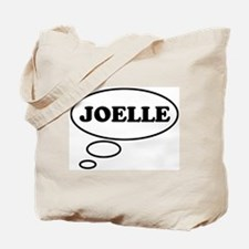 Thinking of JOELLE Tote Bag
