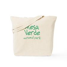 Mesa Verde National Park (Graffiti) Tote Bag