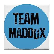 Team Maddox Tile Coaster