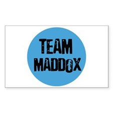 Team Maddox Rectangle Decal
