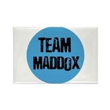 Team Maddox Rectangle Magnet