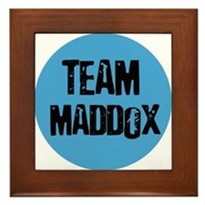 Team Maddox Framed Tile