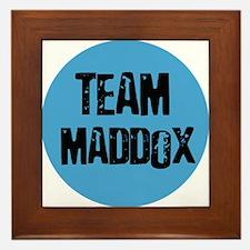 Team Maddox Framed Tile