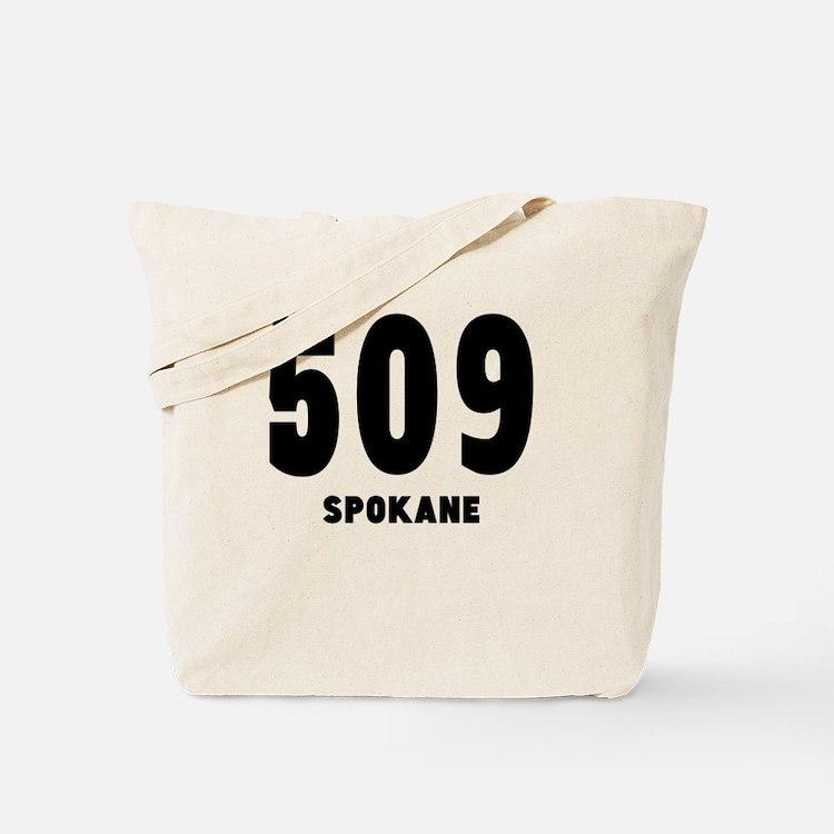 509 Spokane Tote Bag