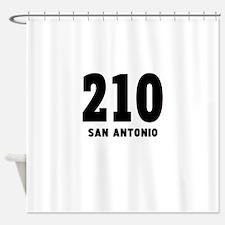 210 San Antonio Shower Curtain
