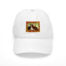 Autumn Cats/Orange Tabby Baseball Baseball Cap