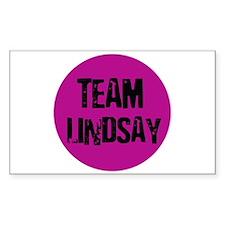 Team Lindsay - LiLo Rectangle Decal