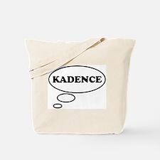 Thinking of KADENCE Tote Bag
