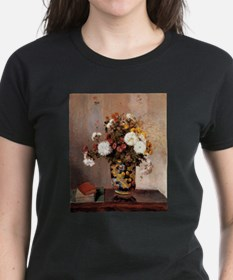 Camille Pissarro - Chrysanthemums In a Chi T-Shirt