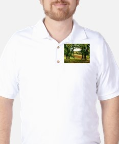 Camille Pissarro - Chestnut Trees at Os T-Shirt