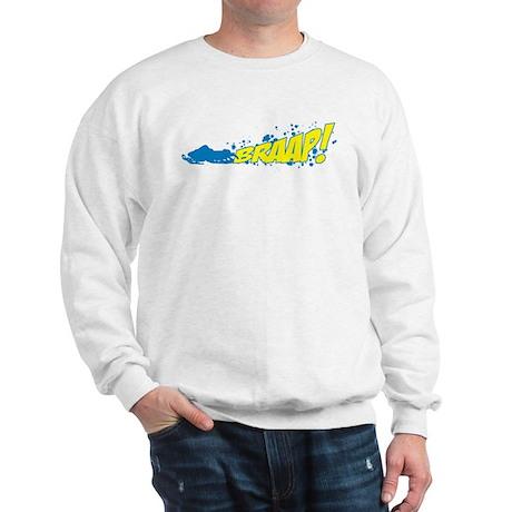 BRAAP! - Blue logo Sweatshirt