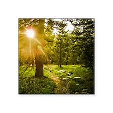 """A Light Unto My Path Square Sticker 3"""" x 3"""""""