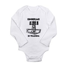 Unique Scandanavian Long Sleeve Infant Bodysuit
