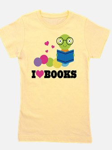 Funny Book Girl's Tee