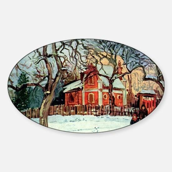 Camille Pissarro - Chestnut Tr Decal