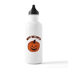Jack o Lantern Water Bottle