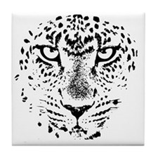 Cute Leopards Tile Coaster