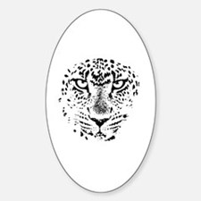Cute Zoo Sticker (Oval)