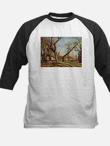 Camille Pissarro - Chestnut Trees Baseball Jersey