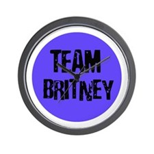 Team Britney Wall Clock