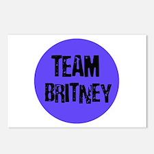 Team Britney Postcards (Package of 8)