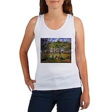 Camille Pissarro - Chaponval Landscape Tank Top