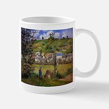 Camille Pissarro - Chaponval Landscape Mugs