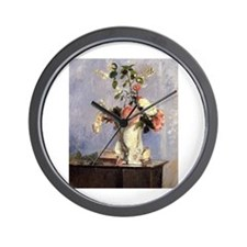 Camille Pissarro - Bouquet of Flowers Wall Clock