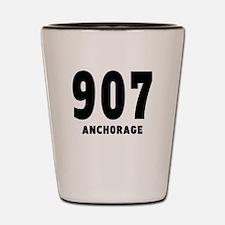 907 Anchorage Shot Glass