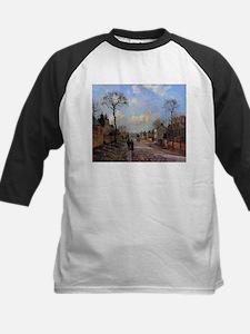Camille Pissarro - A Road in Louve Baseball Jersey