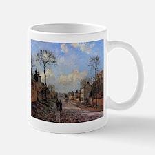 Camille Pissarro - A Road in Louveciennes Mugs