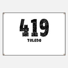 419 Toledo Distressed Banner