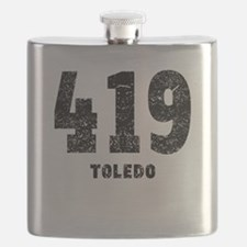 419 Toledo Distressed Flask
