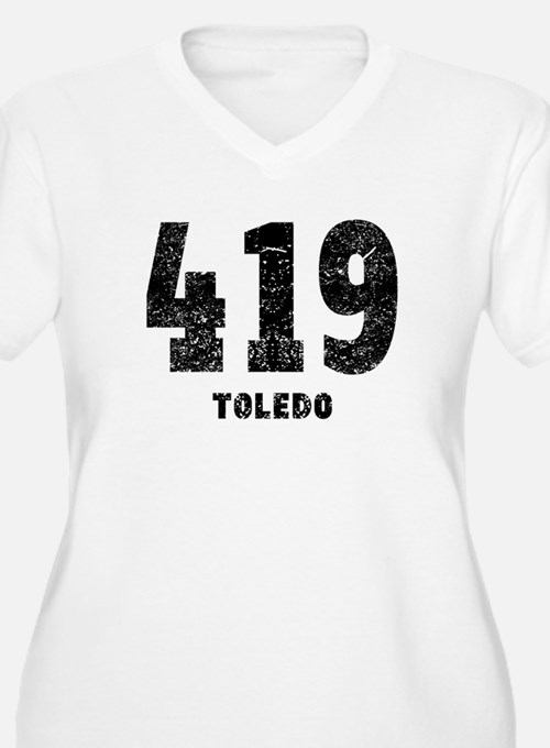 419 Toledo Distressed Plus Size T-Shirt