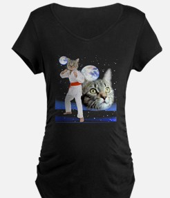 Psychedelic karate cat T-Shirt