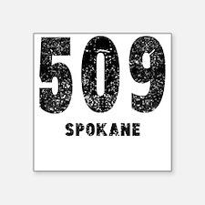 509 Spokane Distressed Sticker