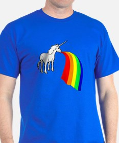 Vomit Rainbow Unicorn T-Shirt