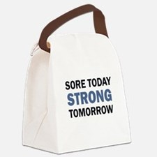 SORE TODAY Canvas Lunch Bag