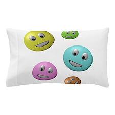 Smiley Face Family Pillow Case
