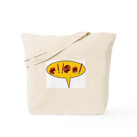 *!!@*! expletive swearing Tote Bag