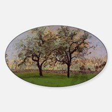 Camille Pissarro - Apples Trees at Pontois Decal