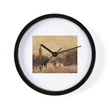 Camille Pissarro - All Saints' Church, Wall Clock