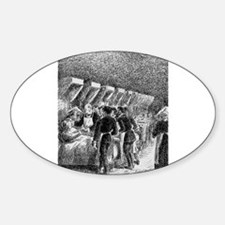 Camille Pissarro - In the hospital Decal