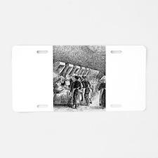 Camille Pissarro - In the h Aluminum License Plate
