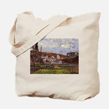 Camille Pissarro - Kitchen Gardens at l'H Tote Bag