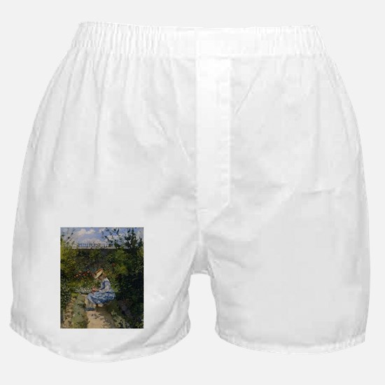 Camille Pissarro - Jeanne in the Gard Boxer Shorts