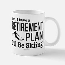 Ski Retirement Plan Mugs